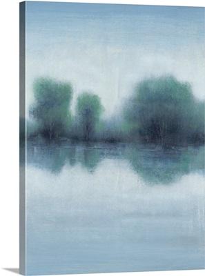 Misty Blue Morning I