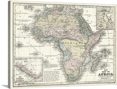 Mitchell's Map of Africa
