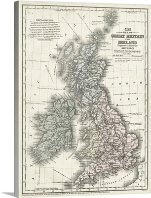 Mitchell's Map of Great Britain and Ireland