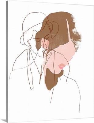Modern Contour Portrait I