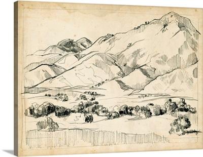 Mountain Sketch I