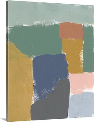 Muted Color Block III