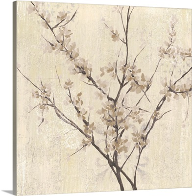Neutral Blossoms On Cream I
