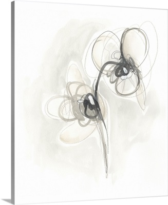 Neutral Floral Gesture I