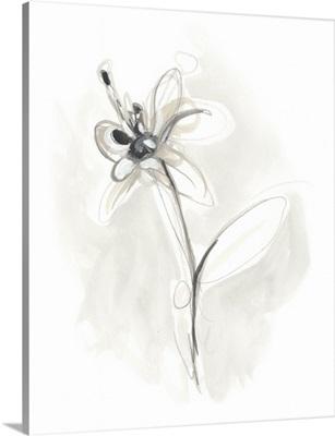 Neutral Floral Gesture IX