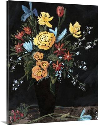 Noir Floral I