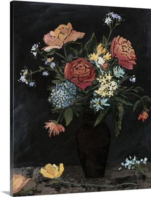 Noir Floral II