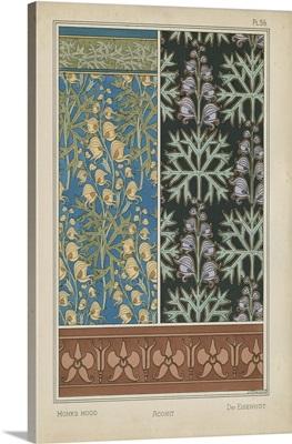 Nouveau Floral Design III