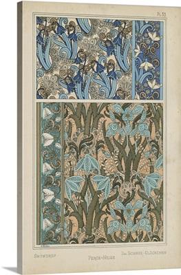 Nouveau Floral Design VII