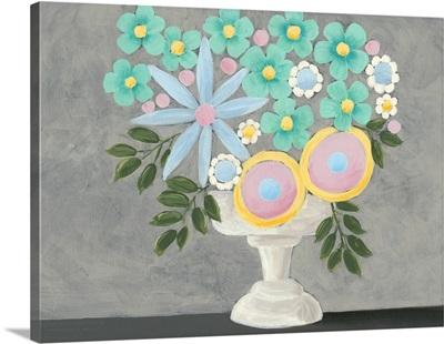 Nouveau Flowers I