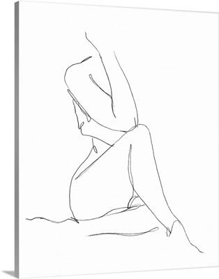 Nude Contour Sketch I
