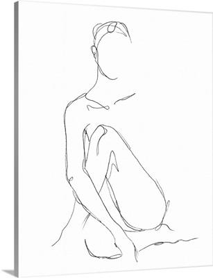 Nude Contour Sketch II