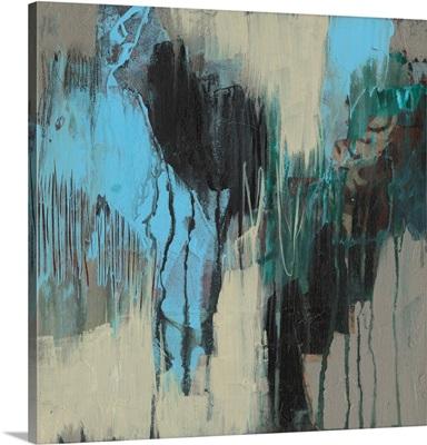 Ocean Blue Abstract II