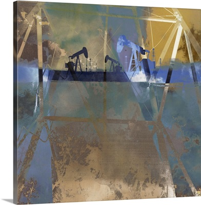 Oil Rig Abstraction I