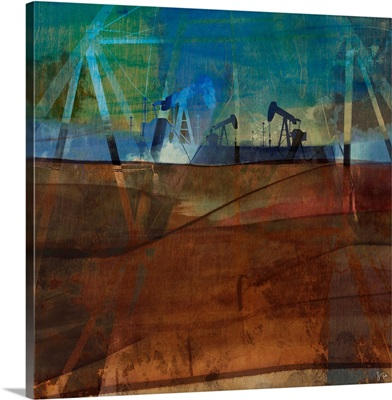 Oil Rig Abstraction II