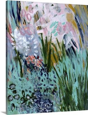 Opulent Floral Strokes I