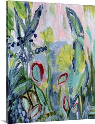 Opulent Floral Strokes III