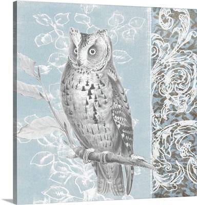 Owl Filigree I