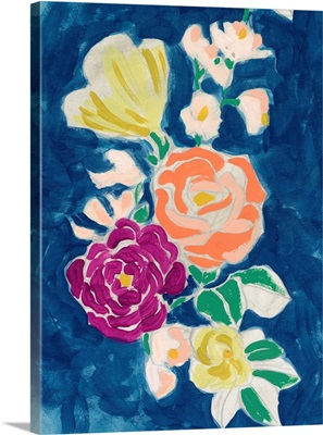 Paintbox Floral I