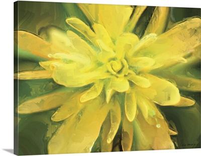 Painterly Flower VII