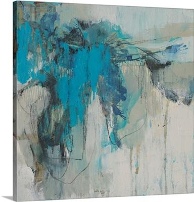 Painterly Teal II