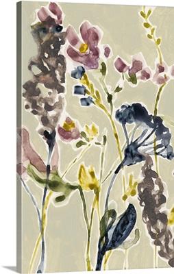 Parchment Flower Field I