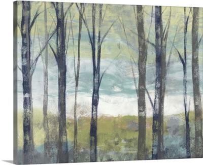 Pastel Birches II