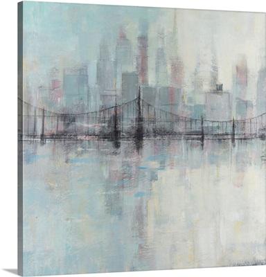 Pastel Cityscape I