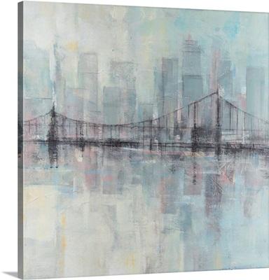 Pastel Cityscape II