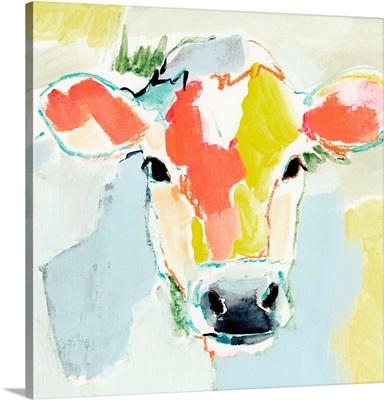 Pastel Cow I