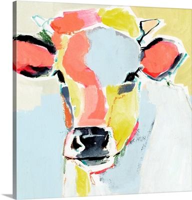 Pastel Cow II