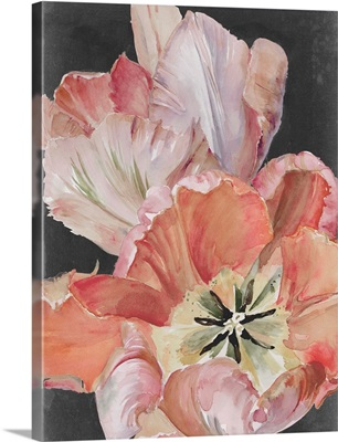 Pastel Parrot Tulips I