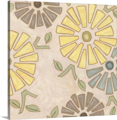 Pastel Pinwheels I
