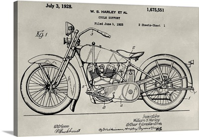 Patent--Motorcycle