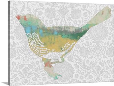 Patterned Bird I