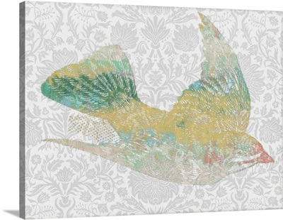 Patterned Bird III