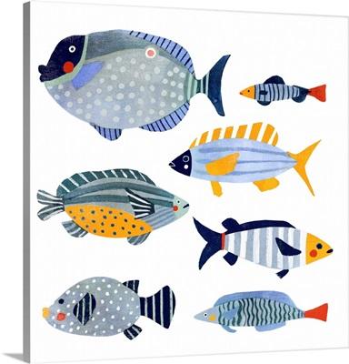 Patterned Fish I