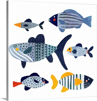 Patterned Fish II