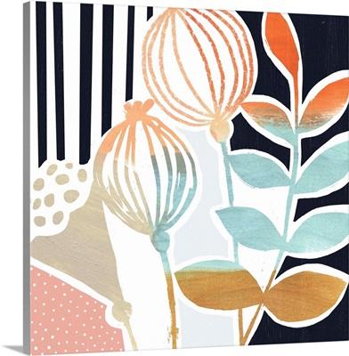 Patterned Flora II