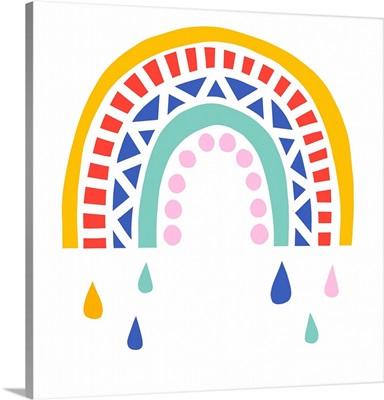 Patterned Rainbow II