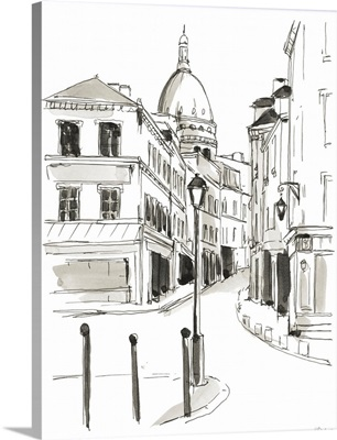 Pen & Ink Travel Studies IV