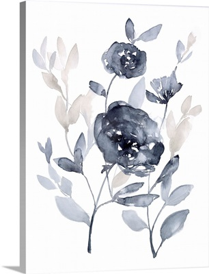 Peonies in Grey II