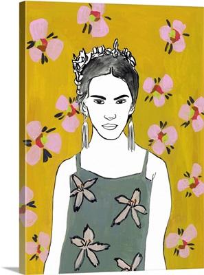 Pink Blossom Lady I