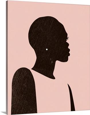 Pink Silhouette II