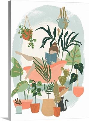 Plant Lady Bath I