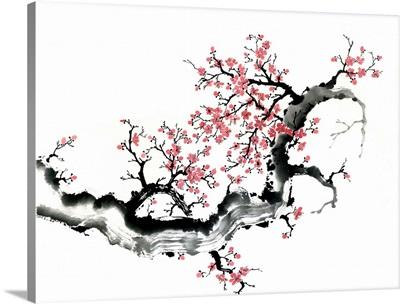 Plum Blossom Branch III