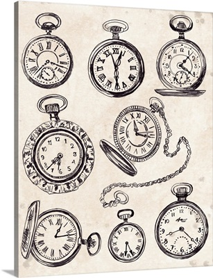 Pocket Watch Sketches I