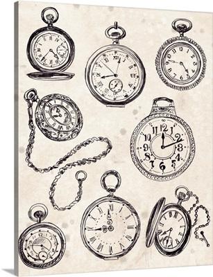 Pocket Watch Sketches II