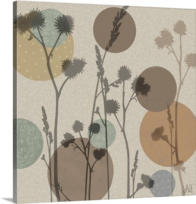 Polka-Dot Wildflowers I