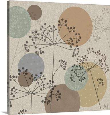 Polka-Dot Wildflowers II